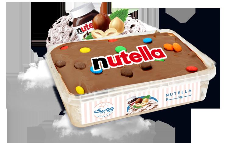 بستنی جلاتو نوتلا