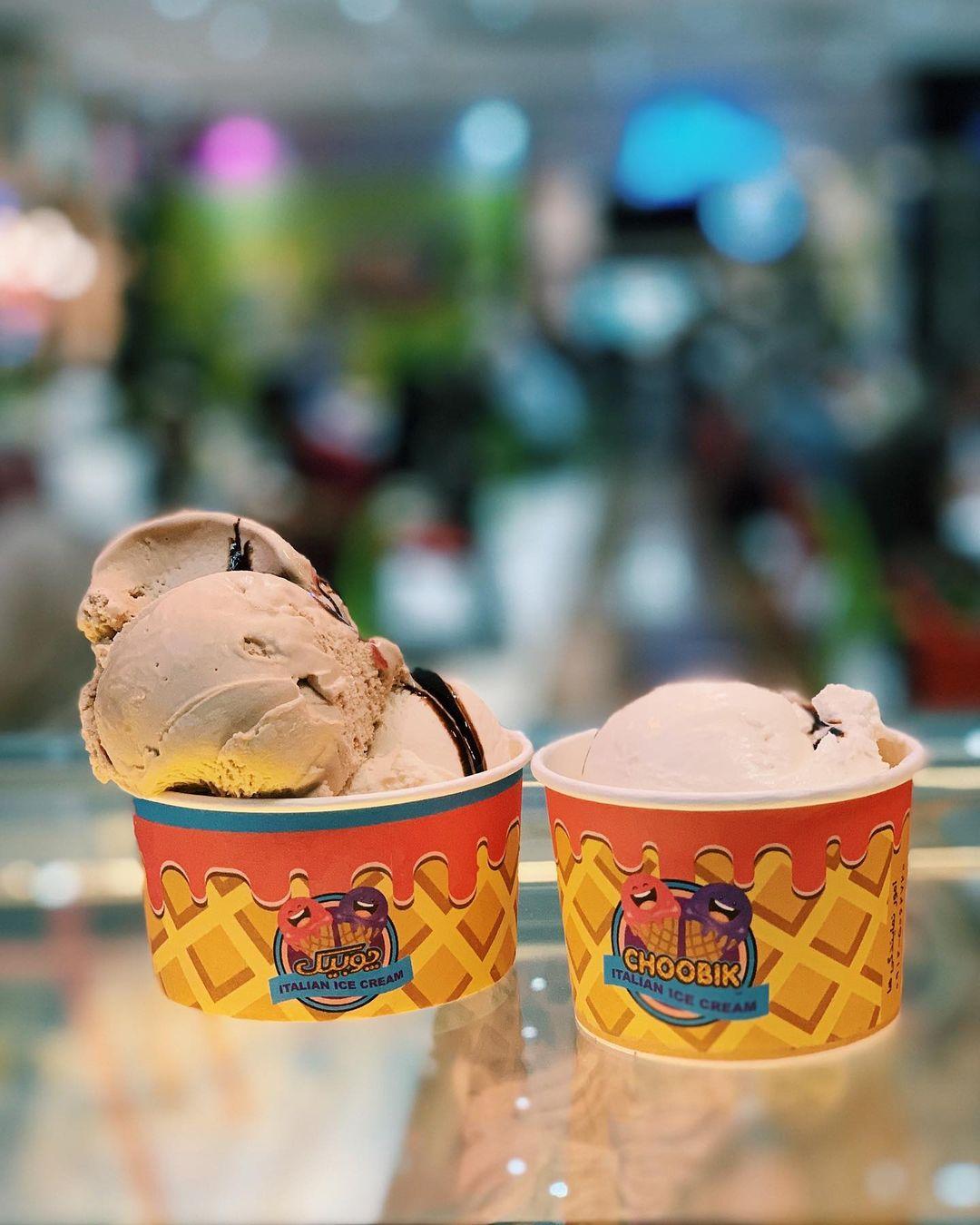 بستنی جلاتو اسکوپی