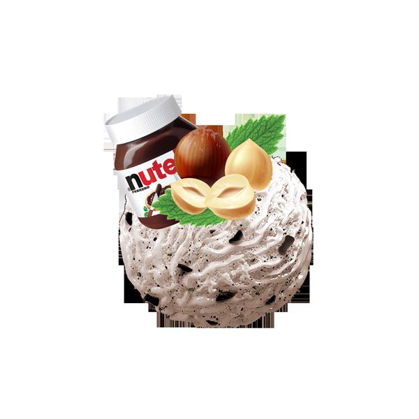 اسکوپ بستنی جلاتو نوتلا