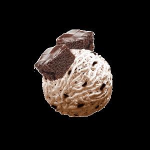 بستنی جلاتو براونی